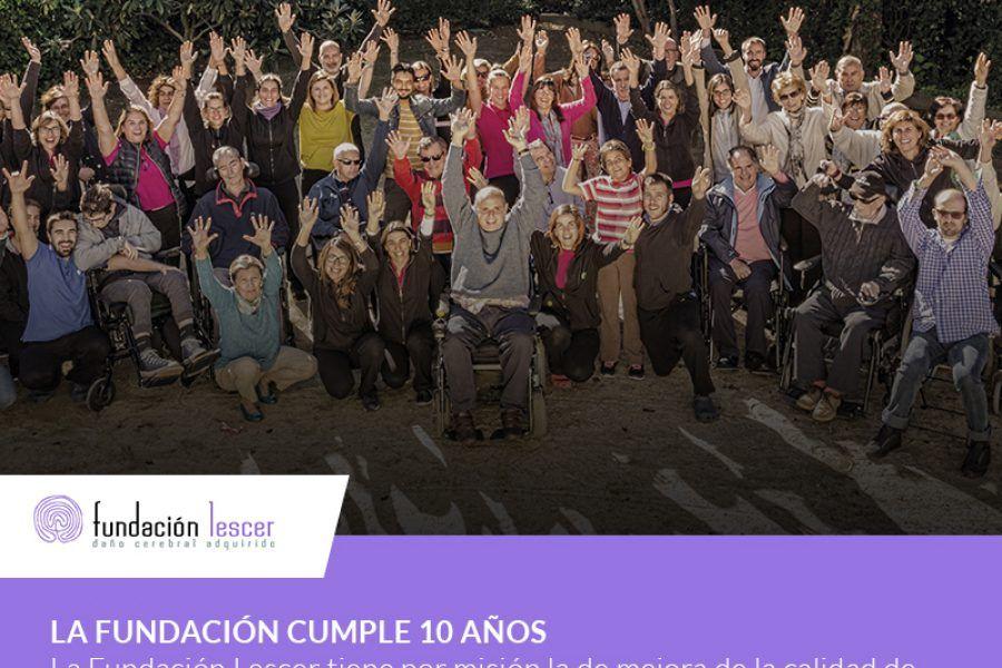 La Fundación Lescer cumple 10 años… ¡con muchos sueños por cumplir!