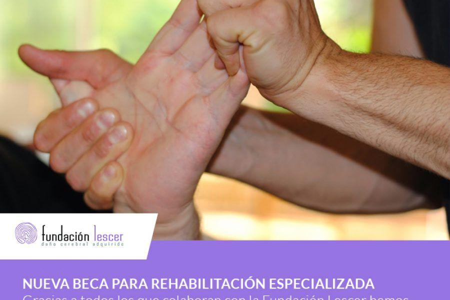 Nueva beca para rehabilitación especializada