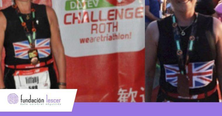 El éxito de Tiffany en el Ironman de Roth alimenta los sueños de los pacientes con DCA de la Fundación Lescer